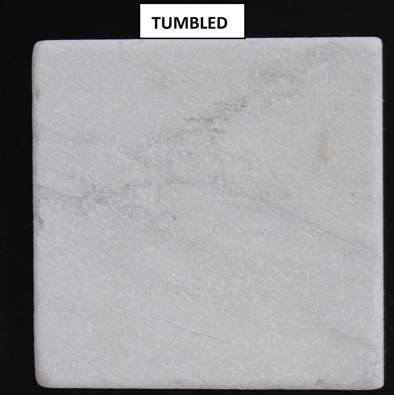 carrara white tumbled marble tile 12x12