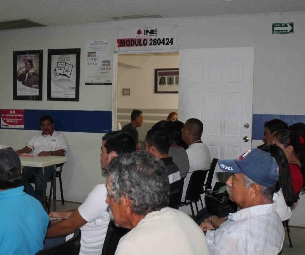 Cambian Módulos De Credencialización Del Ine En Matamoros