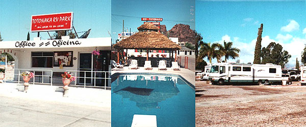 GuaymasSan Carlos RV Parks  Totonaka RV Park  Motel