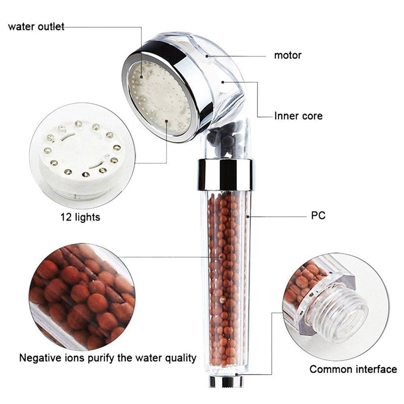 Ionic Shower Head - MEXTEN Product is of high quality