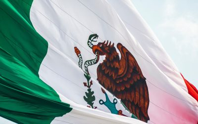 Mexican Flag at City Hall – September 16, 2021
