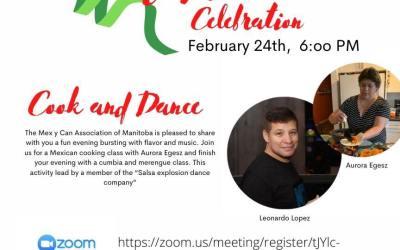 Mexican Celebration – Cook & Dance Virtual Invitation