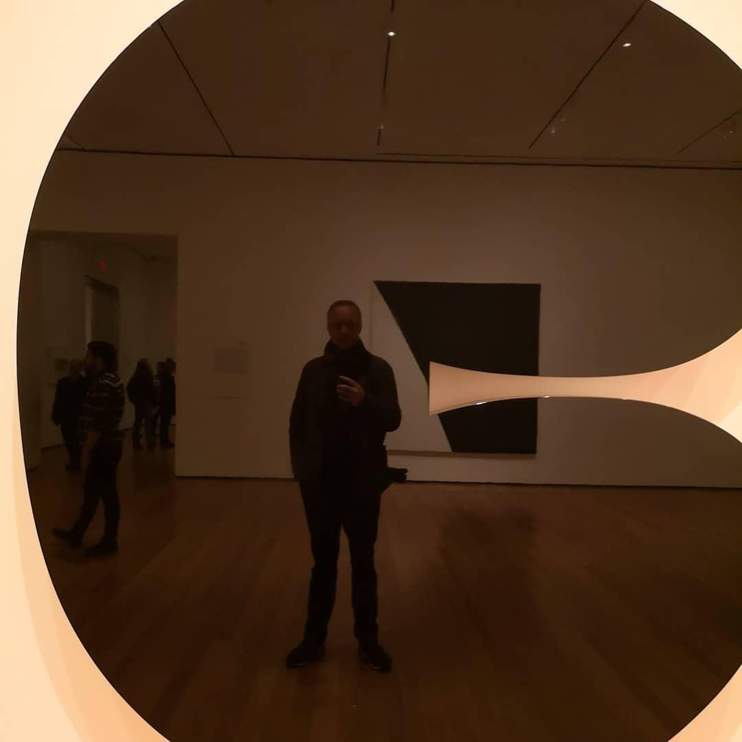Selfie @themuseumofmodernart @newyork