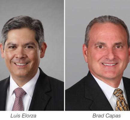 Capital Markets Veterans Elorza and Capas Rejoin Cushman & Wakefield