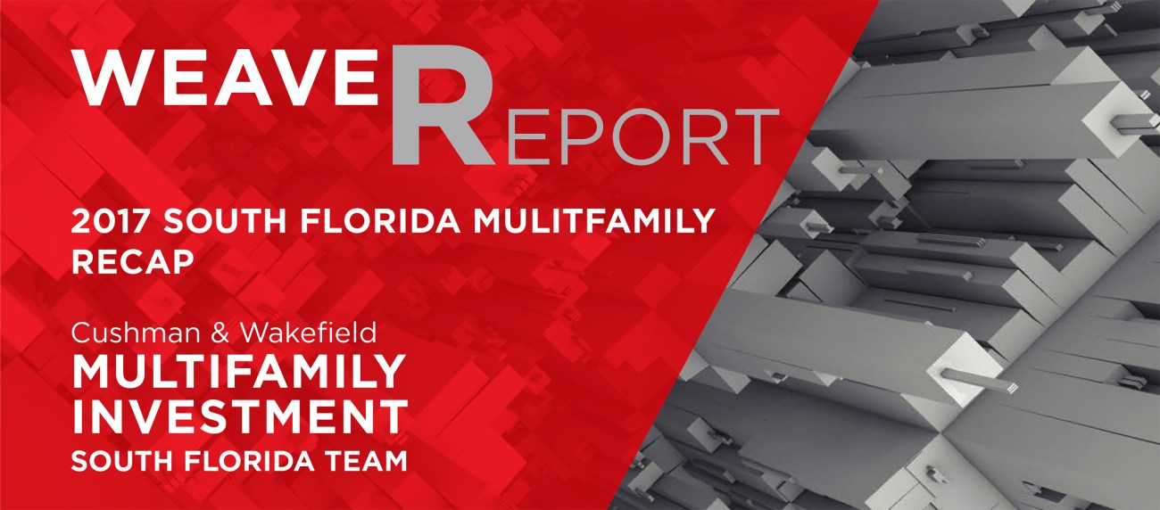 South Florida Multifamily Market Achieves Record Pricing