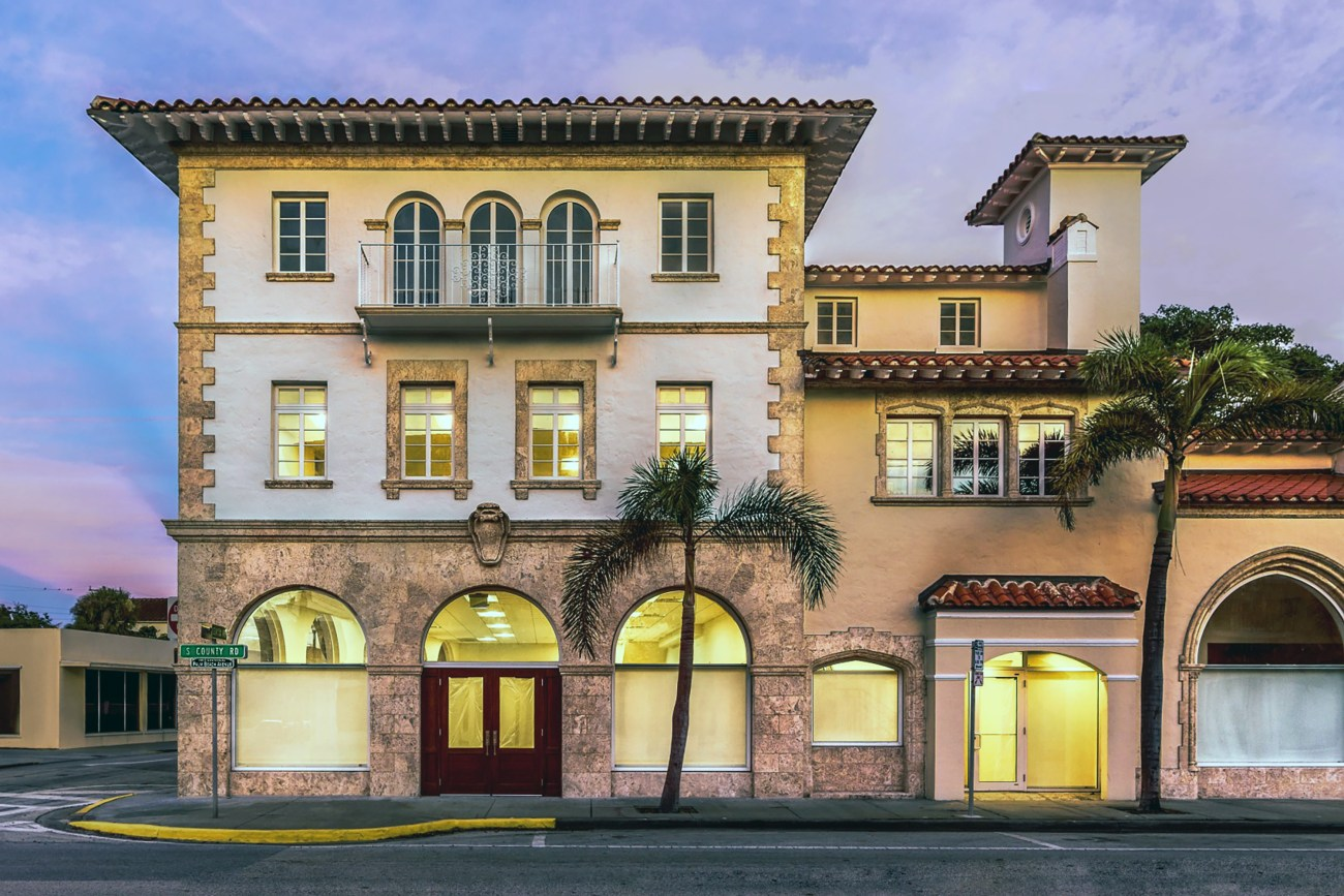 Cushman & Wakefield to Lease Historic Palm Beach Office Building