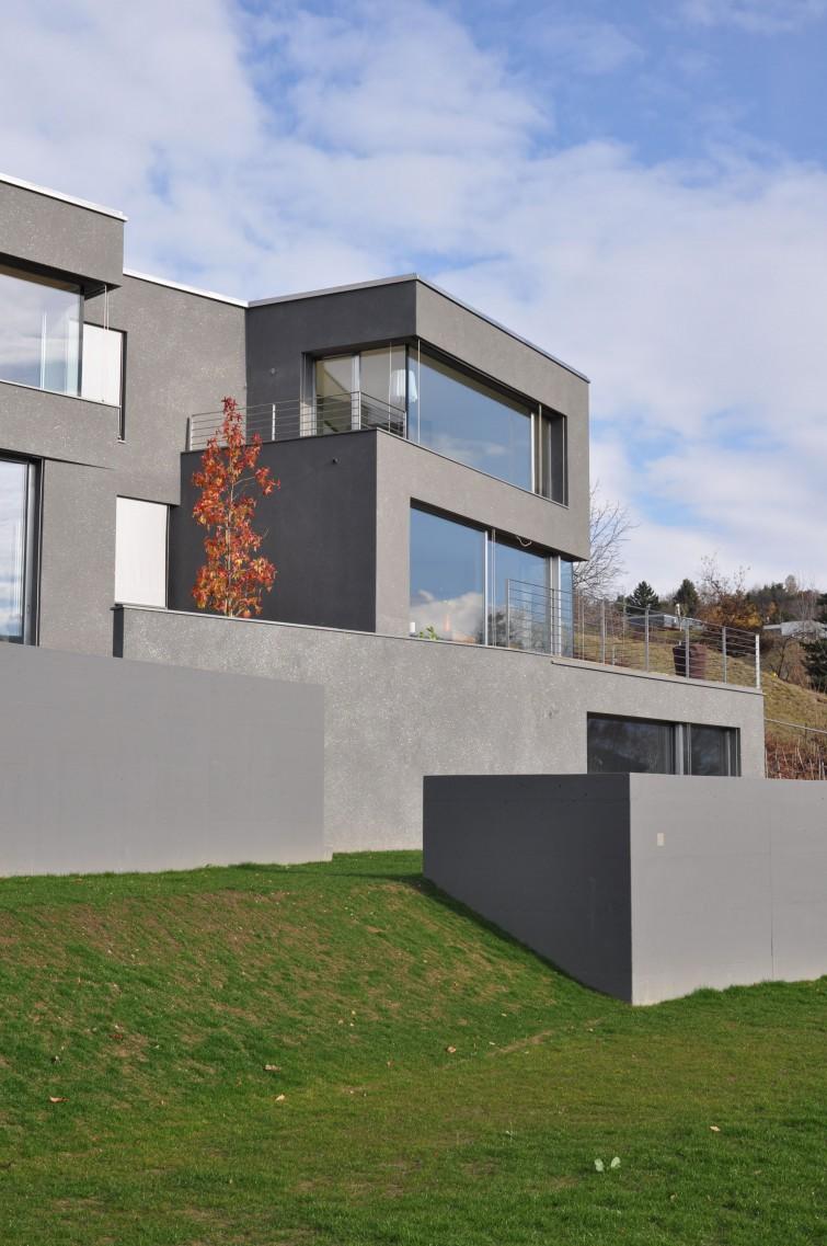 MAISON EN TERRASSE Meyer Architecture Sion