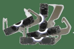 Sonnenfinsertnis Brille