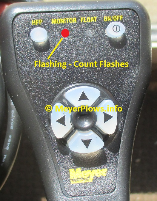 Meyer Ez 1 Pistol Grip Controller M22690dc