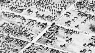 60 Dundas Street East in 1874
