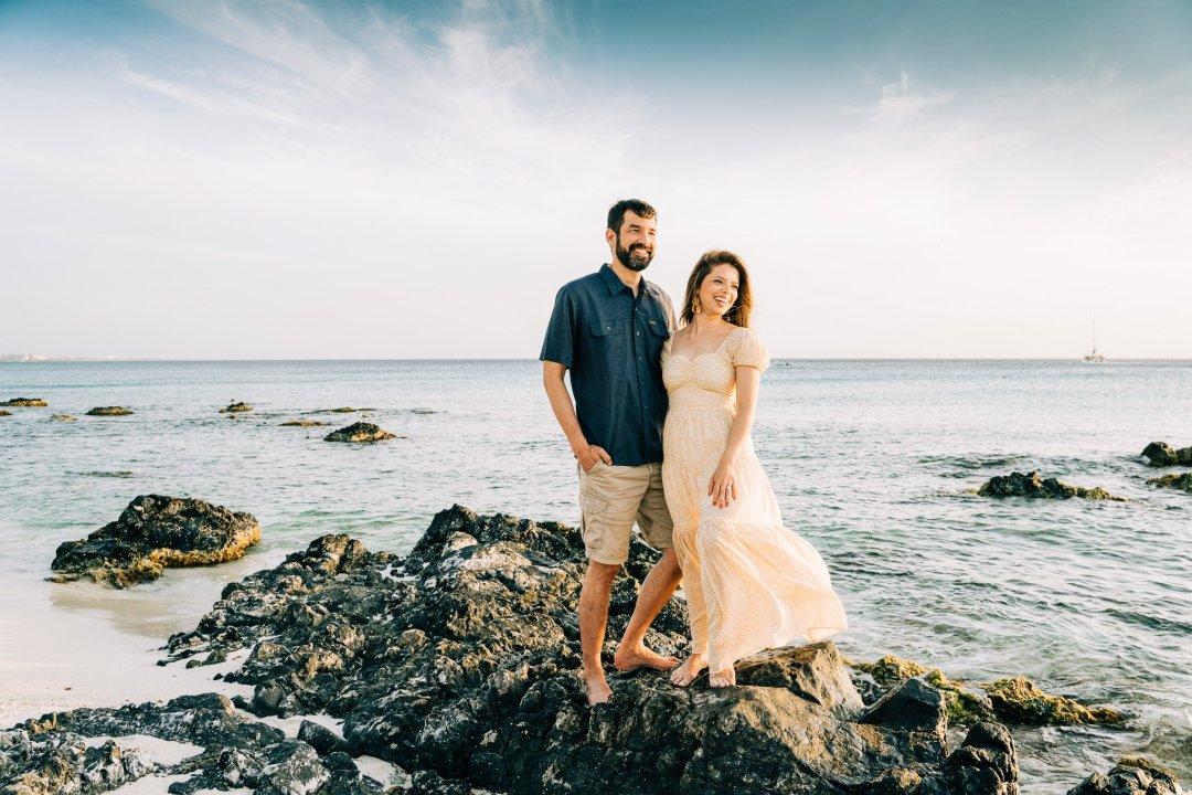 Aruba couple photography