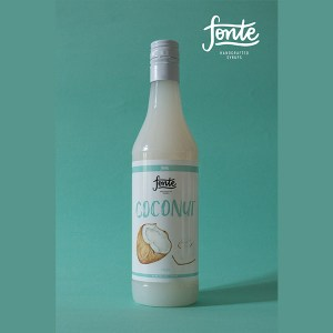 Fonte Coconut Syrup Meza Coffee