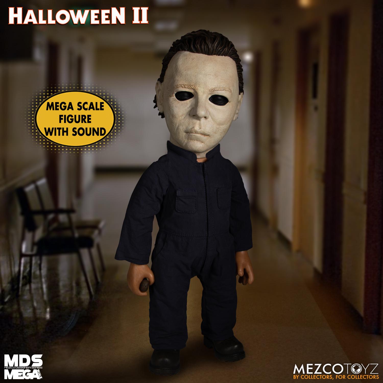 Mds Mega Scale Halloween Ii 1981 Michael Myers With Sound Mezco Toyz