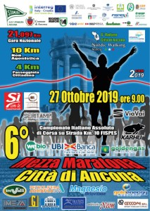 mezza maratona ancona 2019
