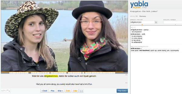 Yabla Languages