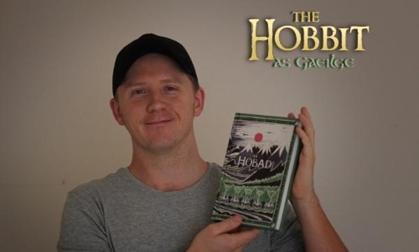 The Hobbit as Gaeilge - An Hobad