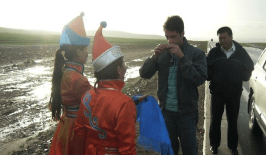 Aaron Posehn China