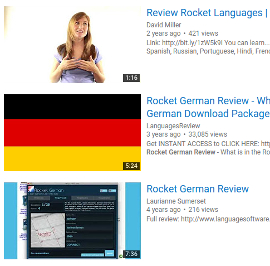 Rocket German Reviews