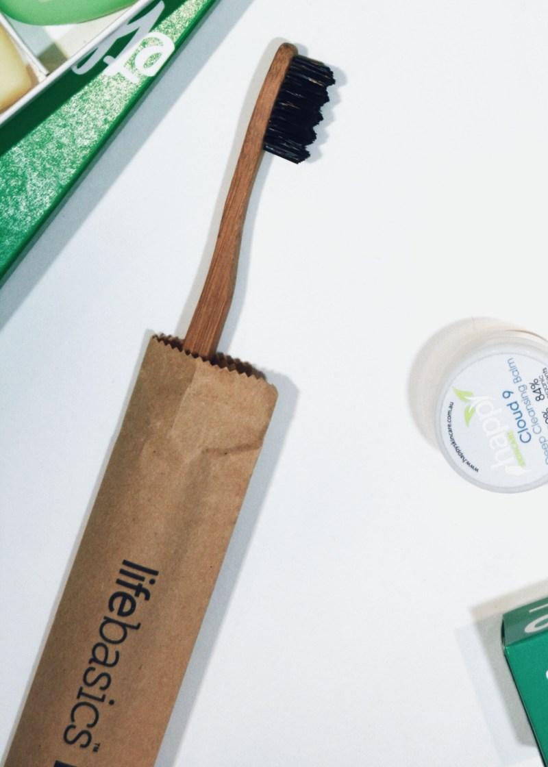 Life Basic Bamboo Charcoal Toothbrush