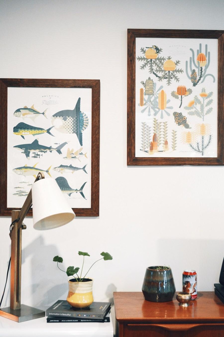Amok Island Prints mid century tiny home