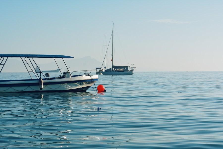 Boat in Dili