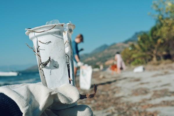 Beloi Beach Atauro Plastic Waste