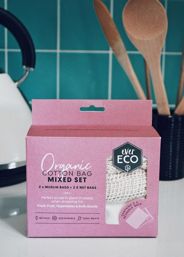 MFARAI Ever Eco Produce Bags Organic Cotton