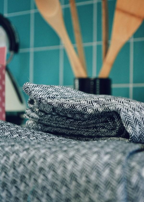 MFARAI Sheets On The Line Tea Towels