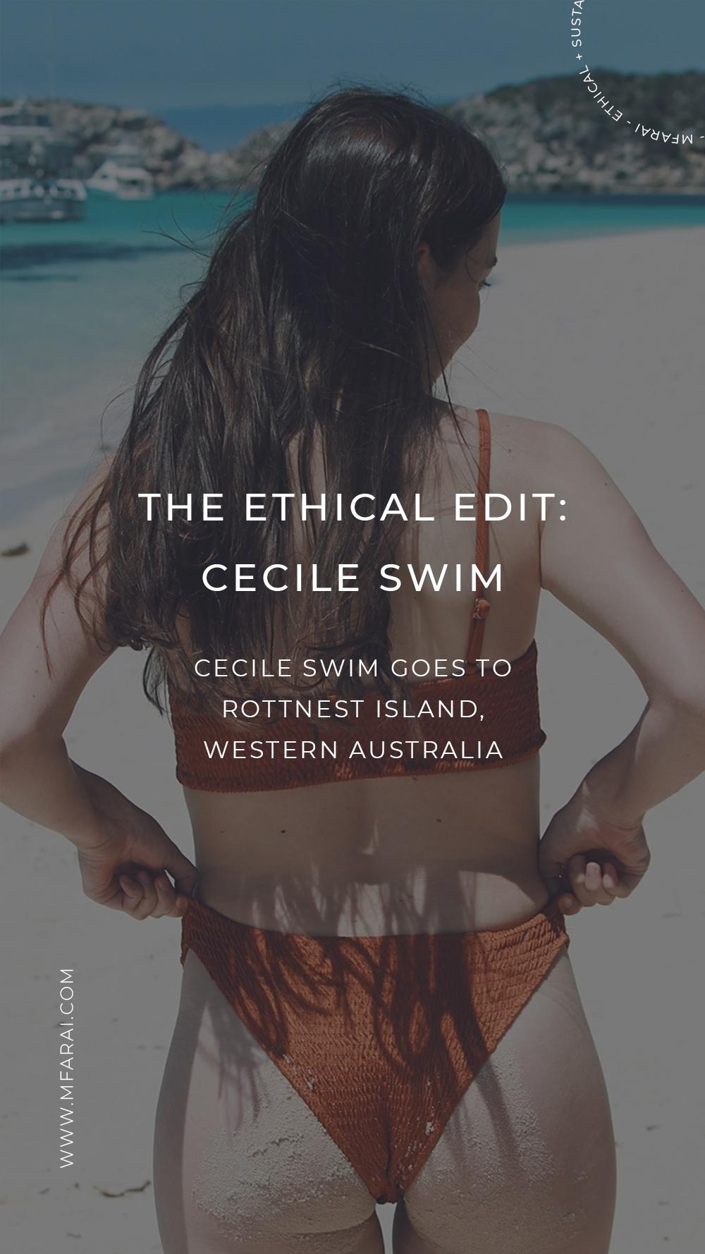 Cecile Swim Ethical Swimwear