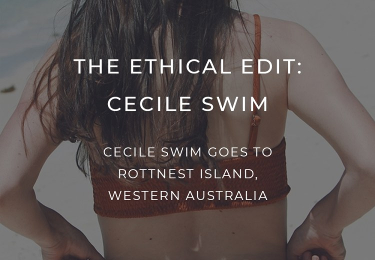 Cecile Swim Ethical Swimwear