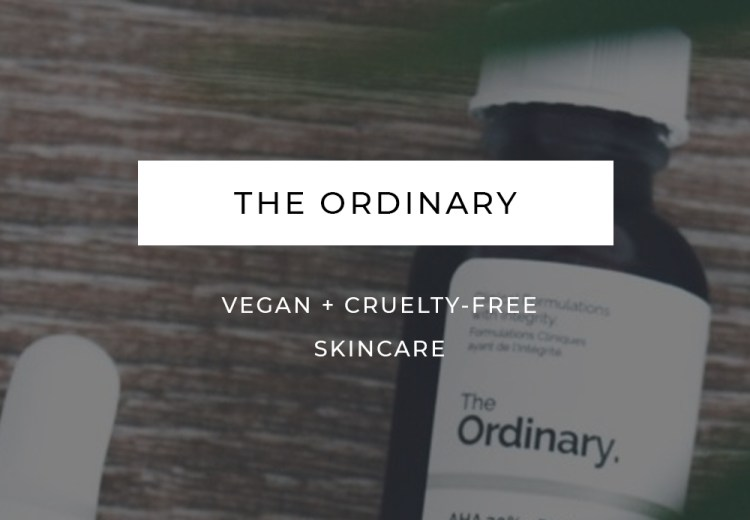 The Ordinary Skincare Vegan