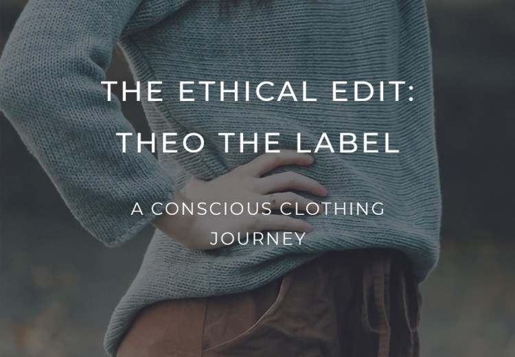Theo the Label ethical clothing Melbourne Australia