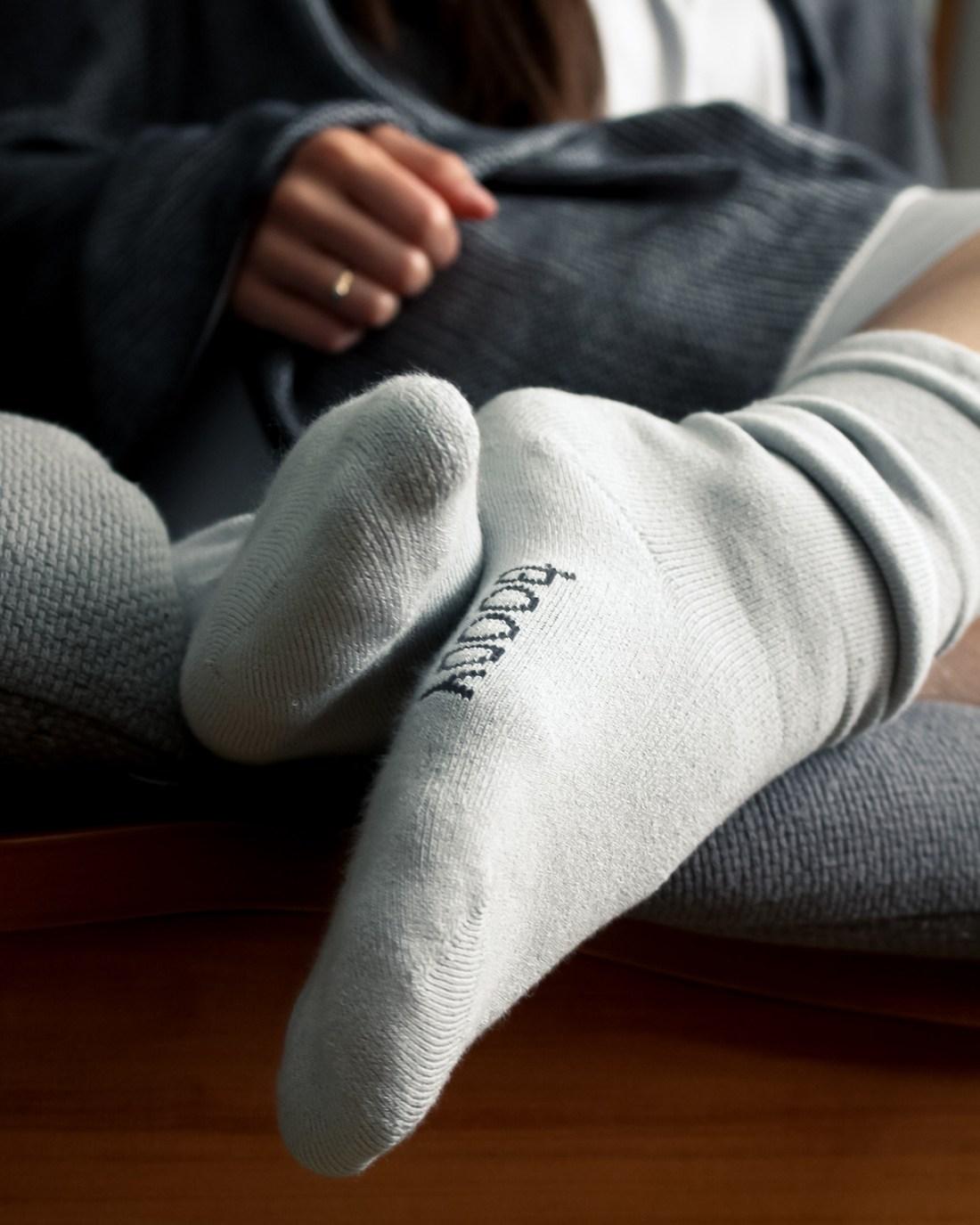 Boody Lounge Chunky Knit Socks