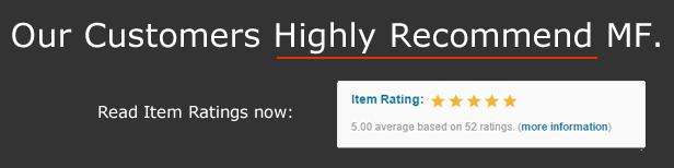 MF - Premium WordPress Theme - Recommend