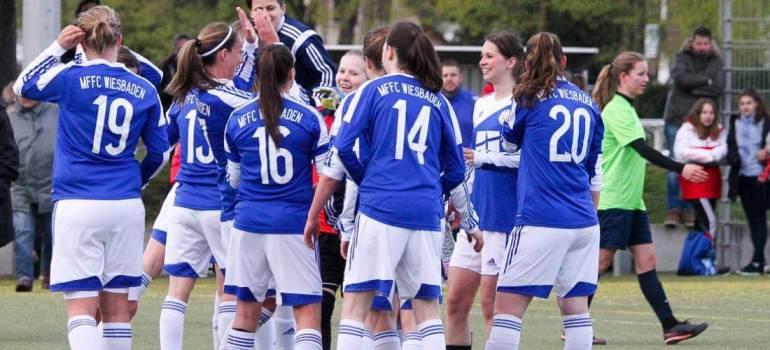 Erfolgreicher Saisonauftakt der MFFC Frauen in der Hessenliga.