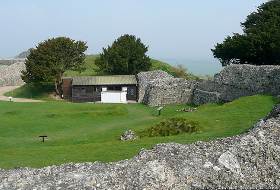 Ticket office, Old Sarum, Wiltshire (Graham Horn)