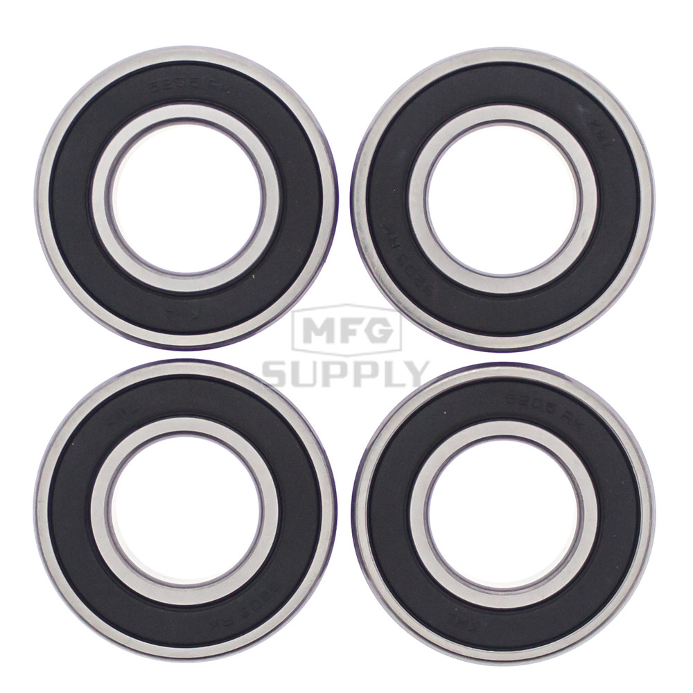 hight resolution of 25 1405 rear wheel bearing kit with seals for kawasaki mule 2500 2510