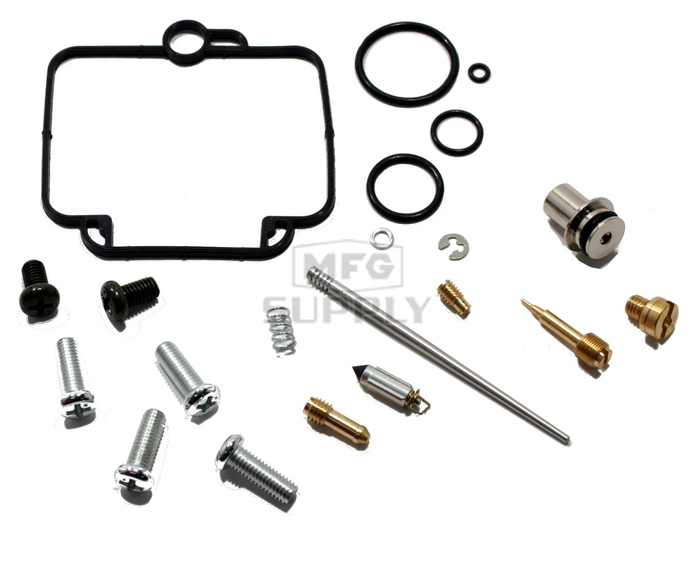 Complete ATV Carburetor Rebuild Kit for 97-09 Polaris