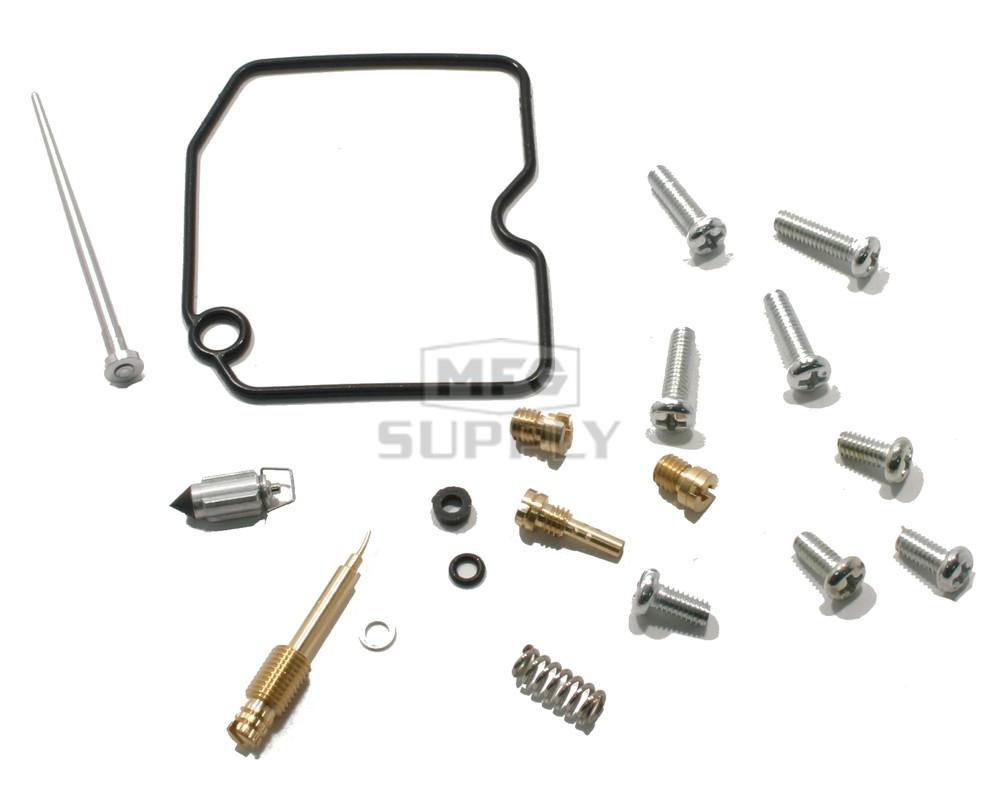hight resolution of complete atv carburetor rebuild kit for 04 arctic cat 500 fis tbx zoom