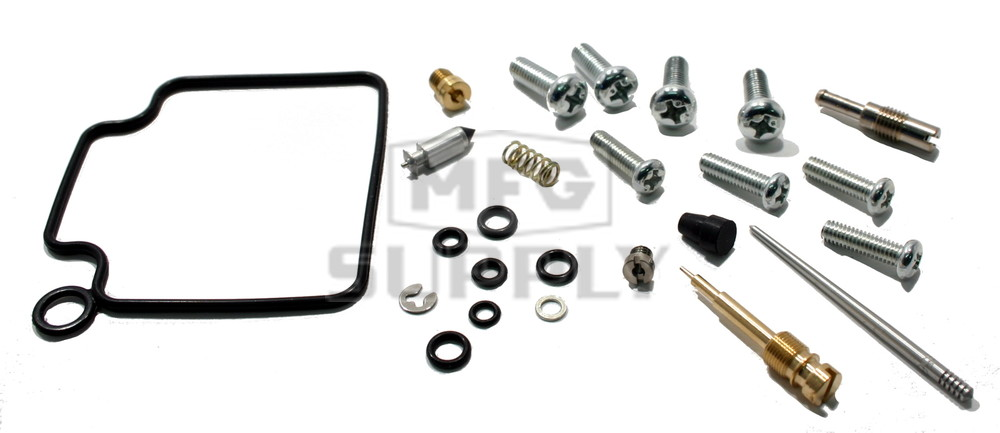 Complete ATV Carburetor Rebuild Kit for 00-03 Honda TRX350