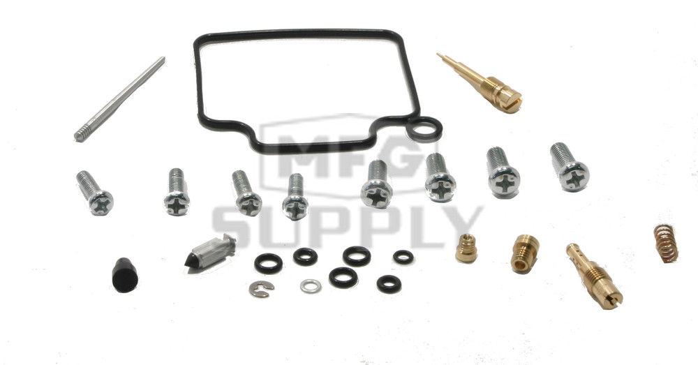 Complete ATV Carburetor Rebuild Kit for many 98-04 Honda