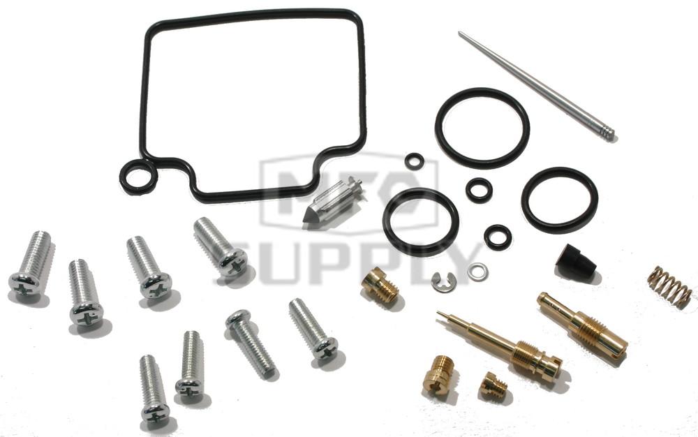 Complete ATV Carburetor Rebuild Kit for 01-04 Honda