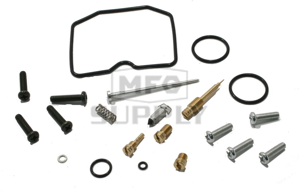 Complete ATV Carburetor Rebuild Kit for 89-96 Kawasaki