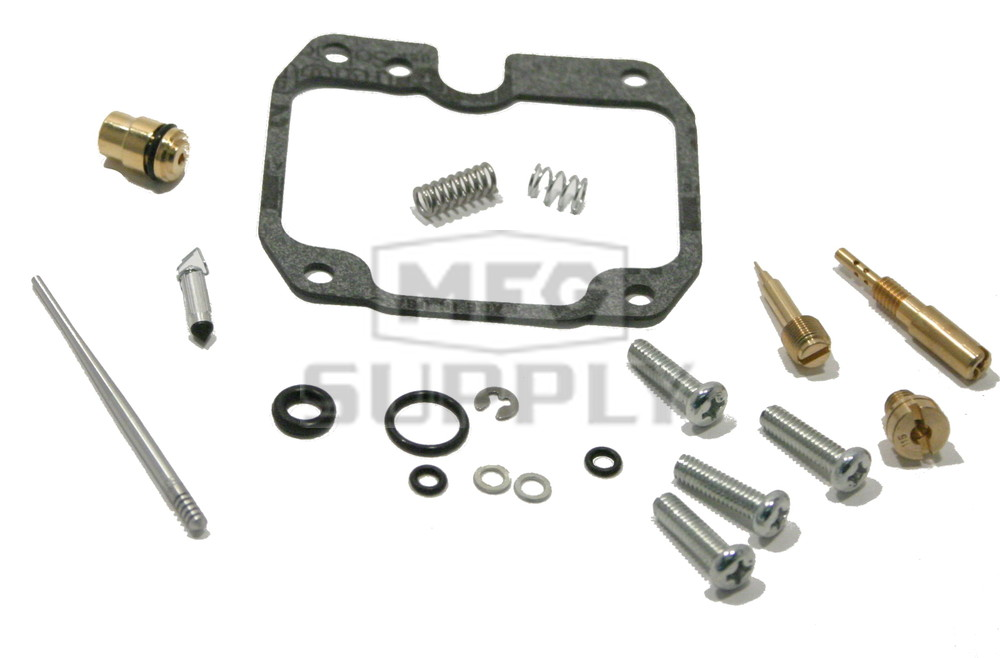 Complete ATV Carburetor Rebuild Kit for 90-99 Kawasaki