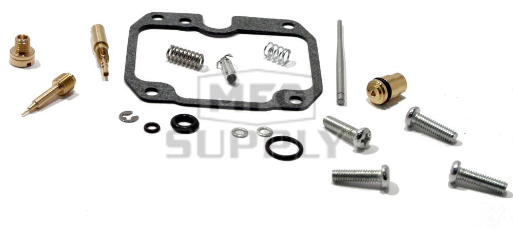 Complete ATV Carburetor Rebuild Kit for 00-02 Kawasaki
