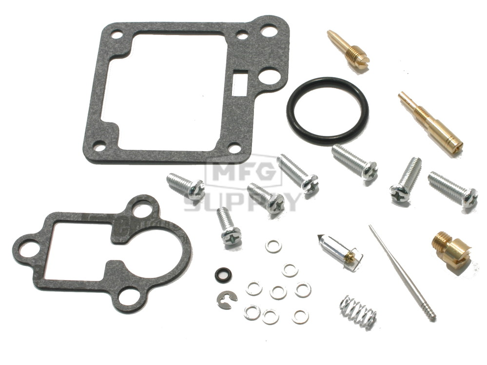 Complete ATV Carburetor Rebuild Kit for 89-91 Yamaha