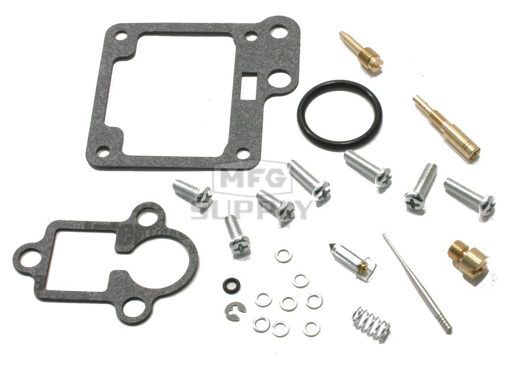 Complete ATV Carburetor Rebuild Kit for 89-91 Yamaha