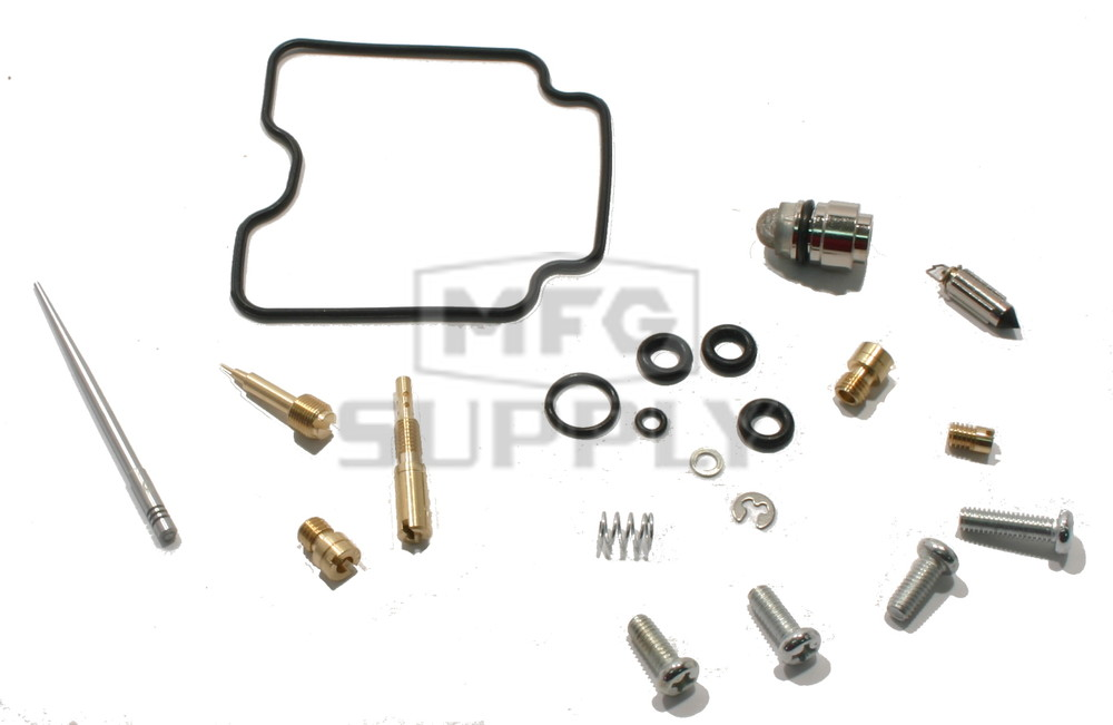 Complete ATV Carburetor Rebuild Kit for 04-13 Yamaha
