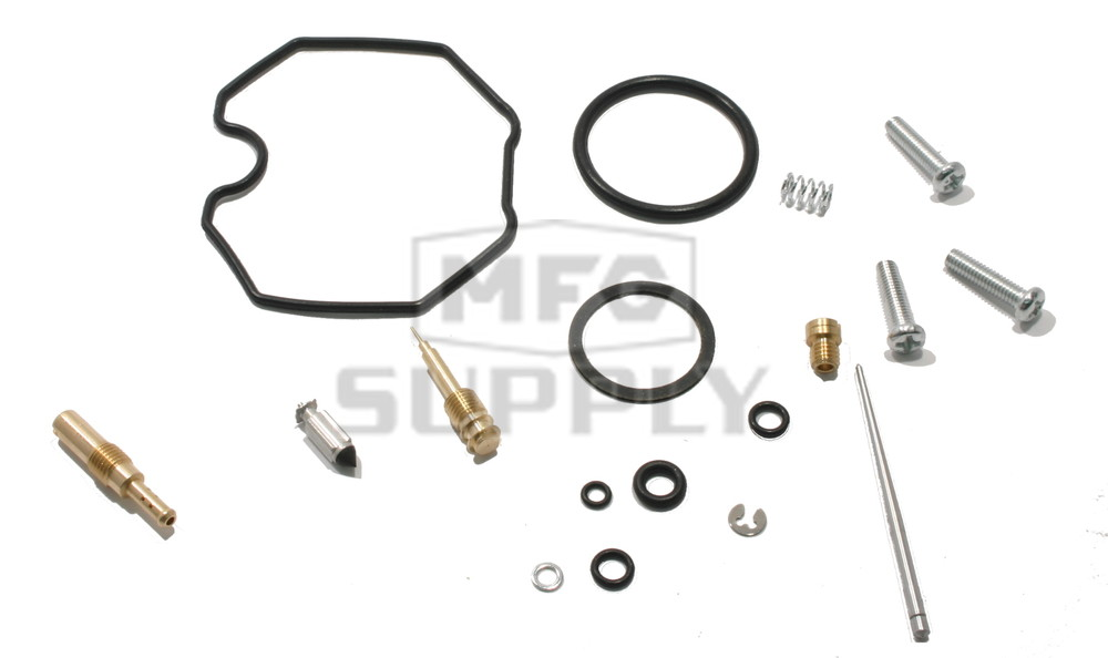 Complete ATV Carburetor Rebuild Kit for 87-88 Honda