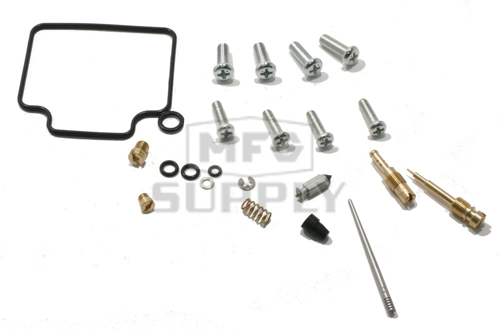 Complete ATV Carburetor Rebuild Kit for 88-90 Honda TRX300